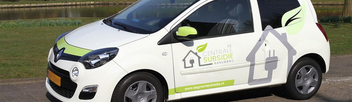auto de groene subsidie